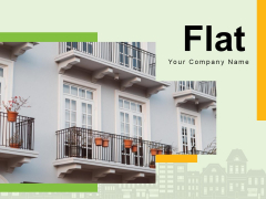 Flat Duplex Apartment Swimming Pool Ppt PowerPoint Presentation Complete Deck