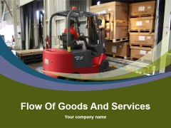 Flow Of Goods And Services Ppt PowerPoint Presentation Complete Deck With Slides