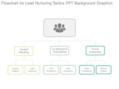 Flowchart For Lead Nurturing Tactics Ppt Background Graphics
