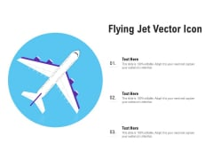 Flying Jet Vector Icon Ppt PowerPoint Presentation Professional Styles