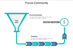Focus Community Ppt PowerPoint Presentation Gallery Tips Cpb