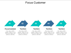 Focus Customer Ppt PowerPoint Presentation Show Icons Cpb