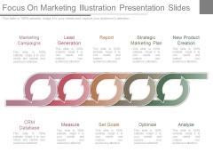 Focus On Marketing Illustration Presentation Slides