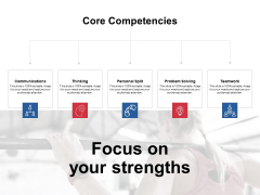 Focus On Your Strengths Ppt PowerPoint Presentation Infographics Outline