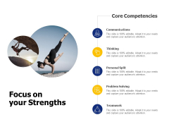 Focus On Your Strengths Ppt PowerPoint Presentation Professional Show