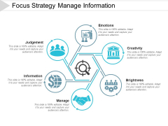Focus Strategy Manage Information Ppt PowerPoint Presentation Styles Graphics