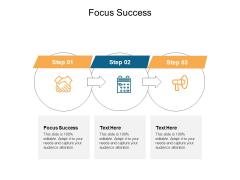 Focus Success Ppt PowerPoint Presentation Show Influencers Cpb