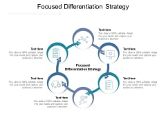 Focused Differentiation Strategy Ppt PowerPoint Presentation Icon Graphics Example Cpb Pdf
