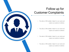 Follow Up For Customer Complaints Ppt PowerPoint Presentation File Guidelines PDF