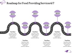 Food Providing Services Catering Menu For Food Providing Services Roadmap For Food Providing Services 2015 To 2020 Guidelines PDF