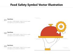 Food Safety Symbol Vector Illustration Ppt PowerPoint Presentation File Ideas PDF