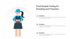 Food Sample Tasting For Branding And Promotion Ppt Ideas Maker PDF