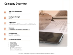 For Launching Company Site Company Overview Ppt PowerPoint Presentation Pictures Slide Download PDF