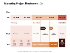 For Launching Company Site Marketing Project Timeframe Evaluation Rules PDF