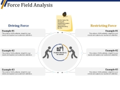 Force Field Analysis Ppt PowerPoint Presentation Ideas Slide Download