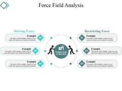 Force Field Analysis Template 1 Ppt PowerPoint Presentation Styles Topics