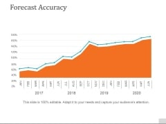 Forecast Accuracy Template 2 Ppt PowerPoint Presentation Pictures Grid