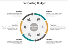 forecasting budget ppt powerpoint presentation visual aids show cpb