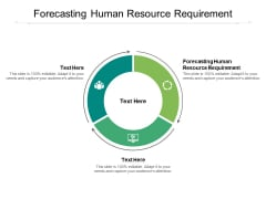 Forecasting Human Resource Requirement Ppt PowerPoint Presentation Inspiration Introduction Cpb