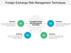 Foreign Exchange Risk Management Techniques Ppt PowerPoint Presentation Gallery Deck Cpb