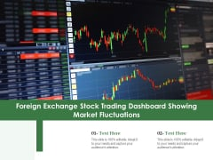 Foreign Exchange Stock Trading Dashboard Showing Market Fluctuations Ppt PowerPoint Presentation Portfolio Mockup PDF