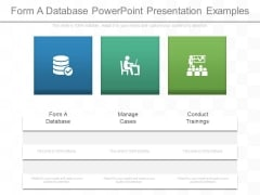 Form A Database Powerpoint Presentation Examples