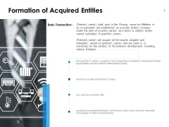 Formation Of Acquired Entities Security Ppt PowerPoint Presentation Portfolio Images