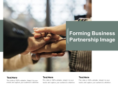 Forming Business Partnership Image Ppt PowerPoint Presentation Portfolio Design Ideas