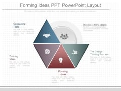 Forming Ideas Ppt Powerpoint Layout