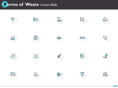 Forms Of Waste Icons Slide Winner Ppt PowerPoint Presentation Gallery Layouts