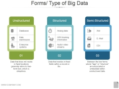 Forms Type Of Big Data Ppt PowerPoint Presentation Deck