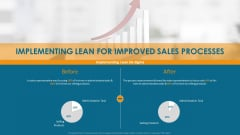 Formulating And Implementing Organization Sales Action Plan Implementing Lean For Improved Sales Processes Icons PDF