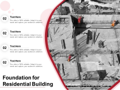 Foundation For Residential Building Ppt PowerPoint Presentation Gallery Grid PDF