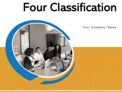 Four Classification Social Responsibilities Communication Objectives Ppt PowerPoint Presentation Complete Deck