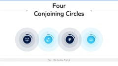 Four Conjoining Circles Training Development Ppt PowerPoint Presentation Complete Deck With Slides