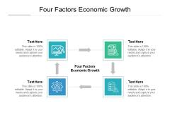 Four Factors Economic Growth Ppt PowerPoint Presentation File Elements Cpb Pdf