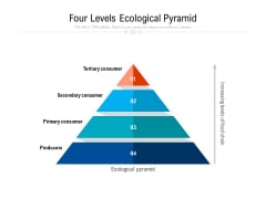 four levels ecological pyramid ppt powerpoint presentation portfolio clipart images pdf