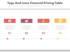 Four Linear Steps And Icons Powerpoint Slides
