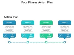 Four Phases Action Plan Ppt PowerPoint Presentation Show Slides