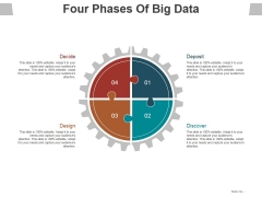 Four Phases Of Big Data Ppt PowerPoint Presentation Layouts Slide Download