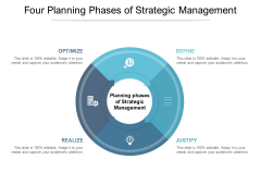 Four Planning Phases Of Strategic Management Ppt PowerPoint Presentation Inspiration Infographic Template