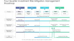 Four Quarter Investment Risk Mitigation Management Roadmap Ideas