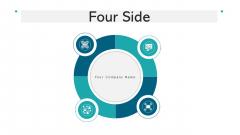 Four Side Goals Analytics Ppt PowerPoint Presentation Complete Deck With Slides