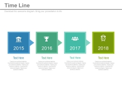 Four Staged Tags Design Timeline Diagram Powerpoint Slides