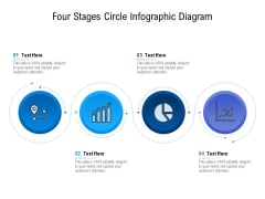 Four Stages Circle Infographic Diagram Ppt PowerPoint Presentation File Ideas