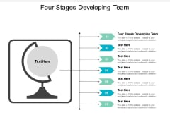 Four Stages Developing Team Ppt PowerPoint Presentation Pictures Graphics Tutorials Cpb