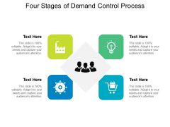 Four Stages Of Demand Control Process Ppt PowerPoint Presentation File Aids PDF