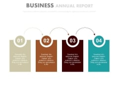 Four Steps For Cost Leadership Strategy Powerpoint Template