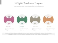 Four Steps For Developing A Marketing Strategy Powerpoint Template