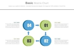 Four Steps For Return On Working Capital Powerpoint Template